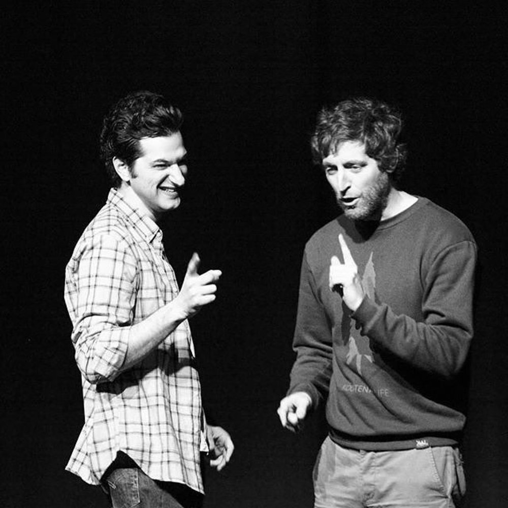 Middleditch and Shwartz sur scène